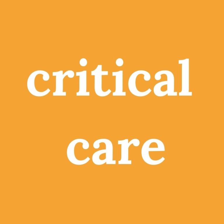 Copy of critical care for ig